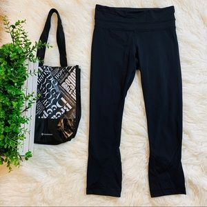 Lululemon Pace Rival Crop Leggings 4 Black
